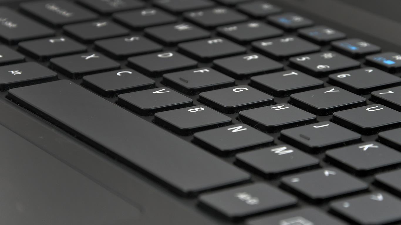 Profil klawiszy klawiatury