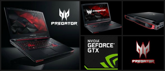 acer predator collage