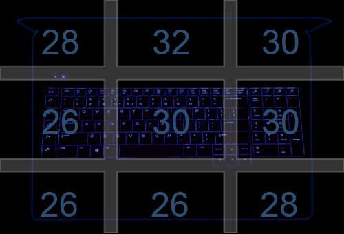 ASUS G752 zGTX 965M_Temperatury spoczynek - pulpit