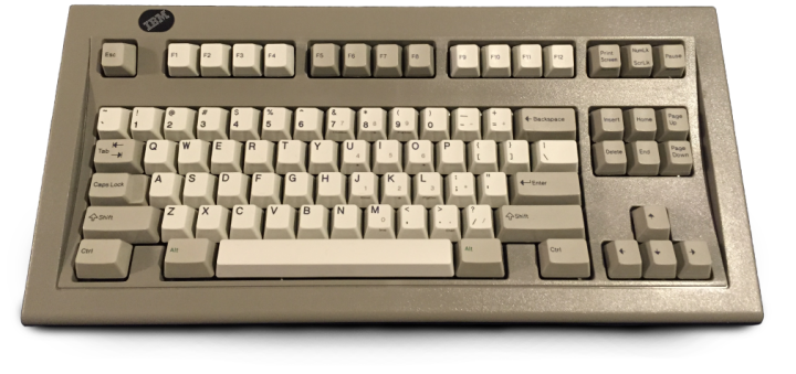 IBM_Model_M_Space_Saving_Keyboard