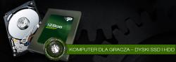 Komputer dla gracza – dyski SSD iHDD