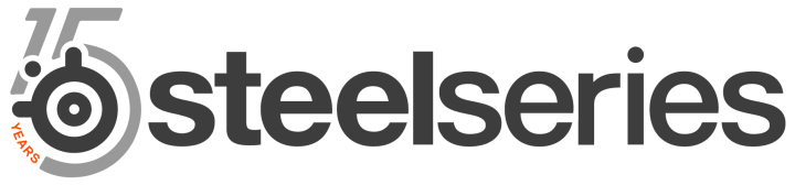 SteelSeries 15th logo text