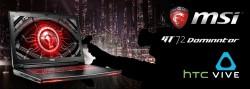 MSI GT72S Dominator Pro + HTC Vive